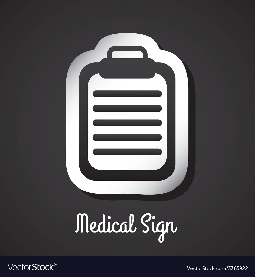 Medical sign design vector   Price: 1 Credit (USD $1)