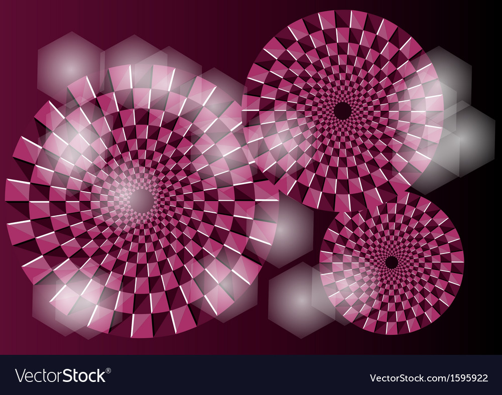 Purple optical vector | Price: 1 Credit (USD $1)
