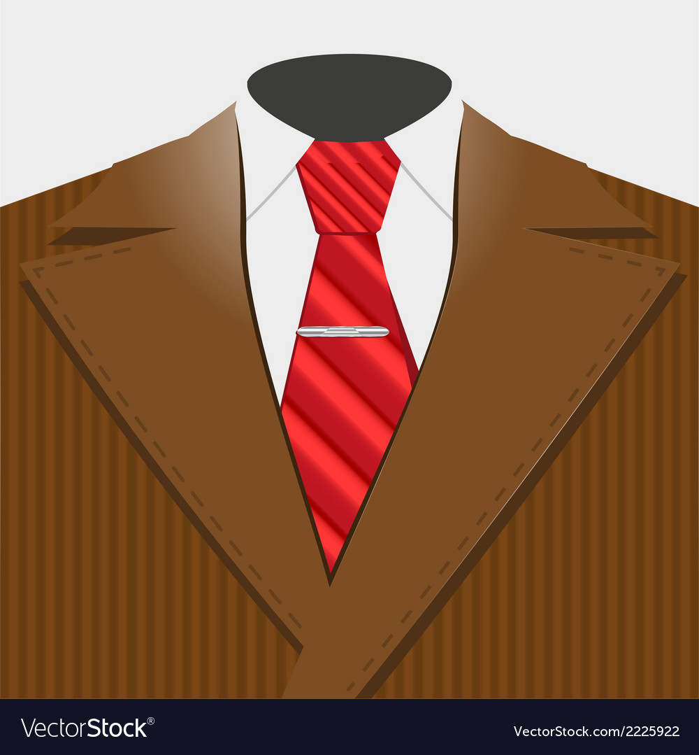 Smart suit vector | Price: 1 Credit (USD $1)