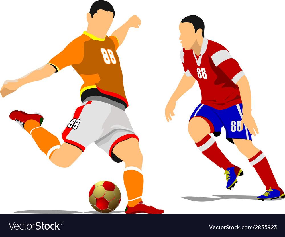 Al 1041 soccer 04 vector | Price: 1 Credit (USD $1)