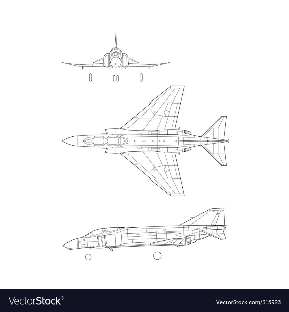 F4 phantom vector   Price: 1 Credit (USD $1)