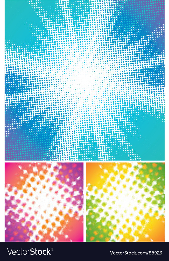 Halftone explosion vector | Price: 1 Credit (USD $1)