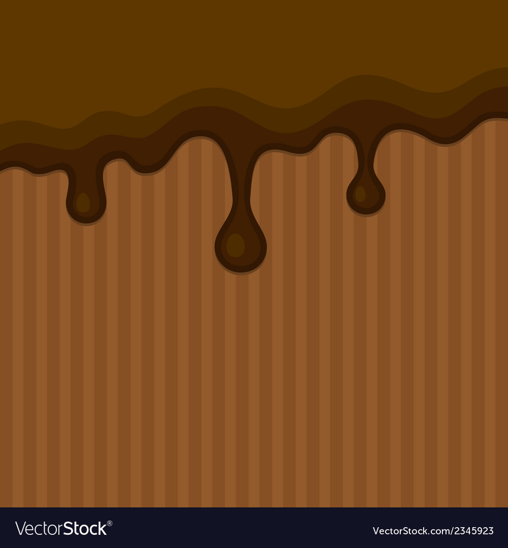Milk melted chocolate streams background vector | Price: 1 Credit (USD $1)