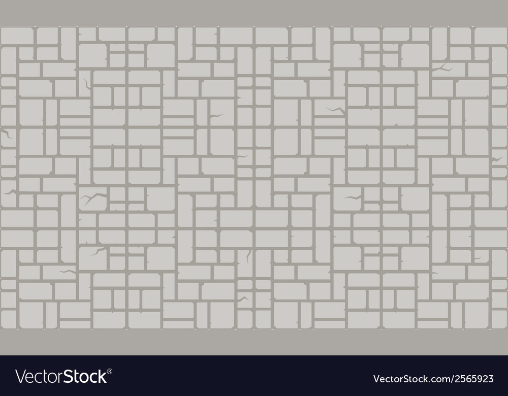 Stone block patter gray vector | Price: 1 Credit (USD $1)