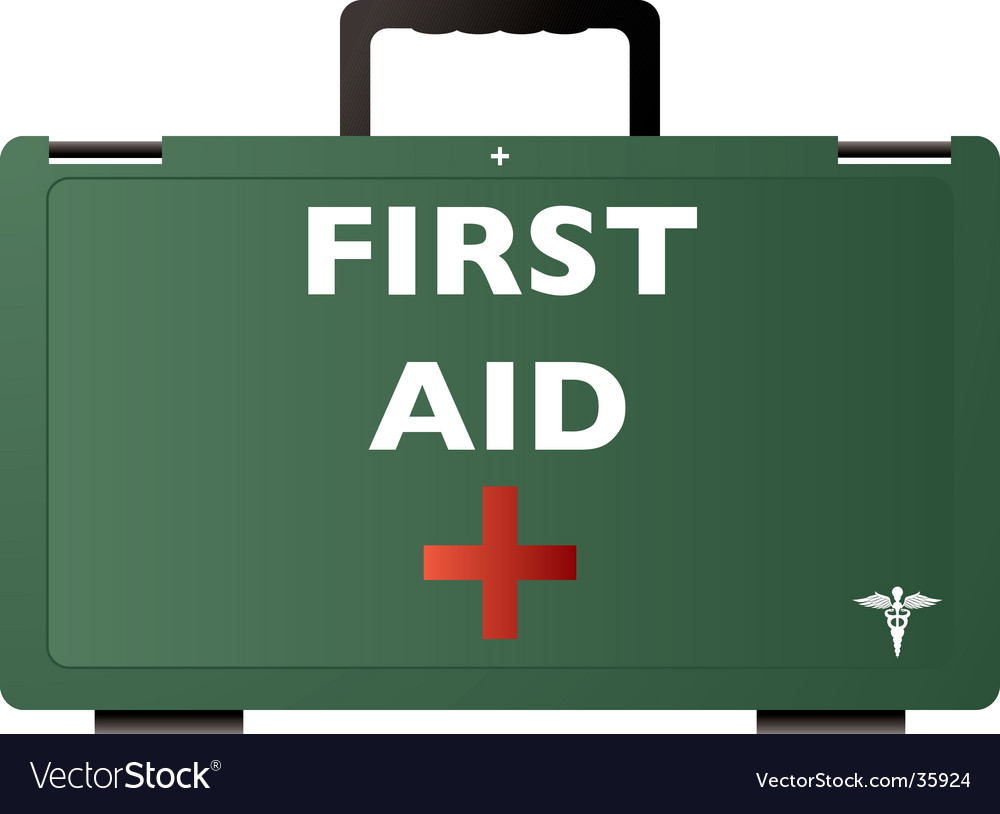 First aid green vector | Price: 1 Credit (USD $1)