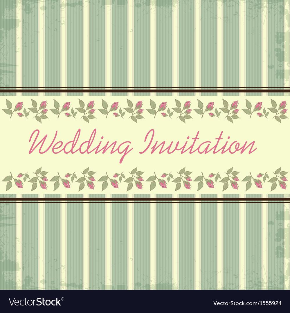 Wedding invitation vector   Price: 1 Credit (USD $1)