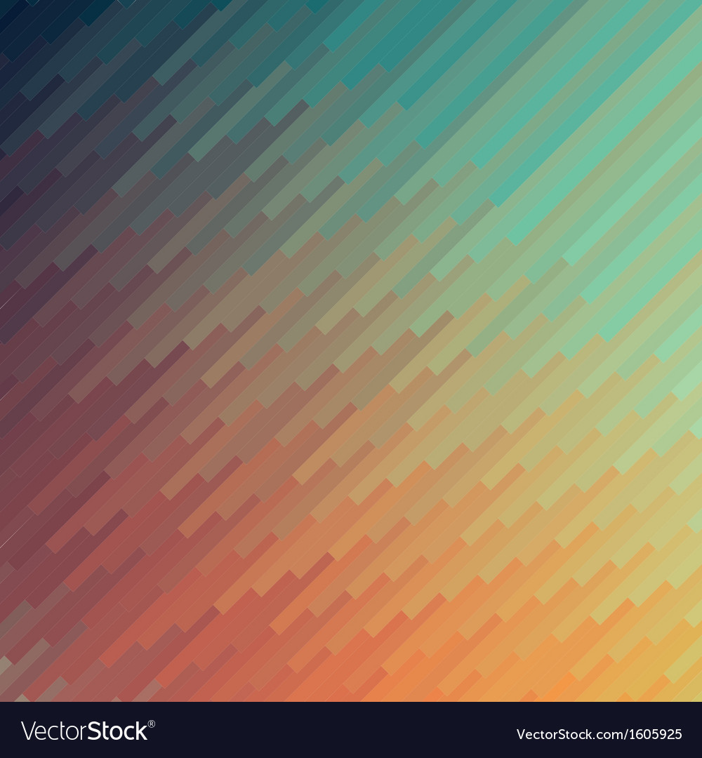 Abstract colorful mosaic banner background vector | Price: 1 Credit (USD $1)