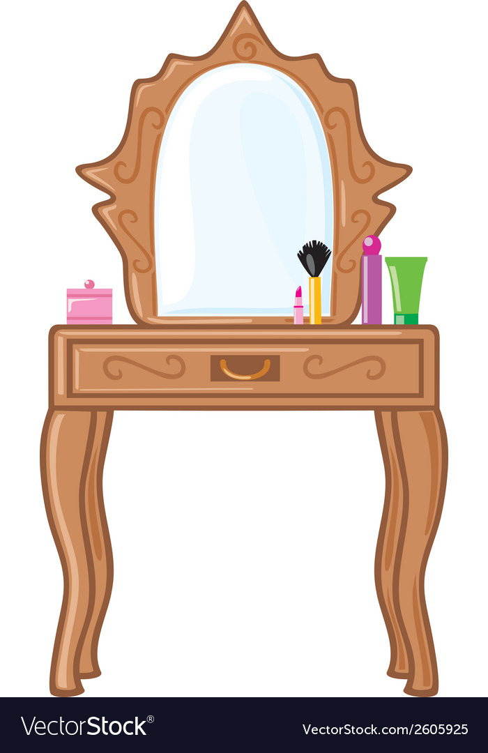 Bedroom mirror vector | Price: 1 Credit (USD $1)