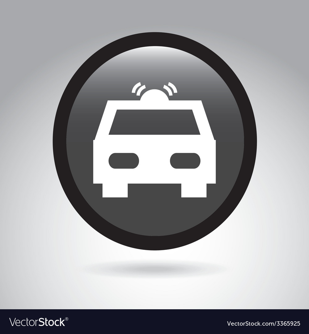 Car button design vector | Price: 1 Credit (USD $1)