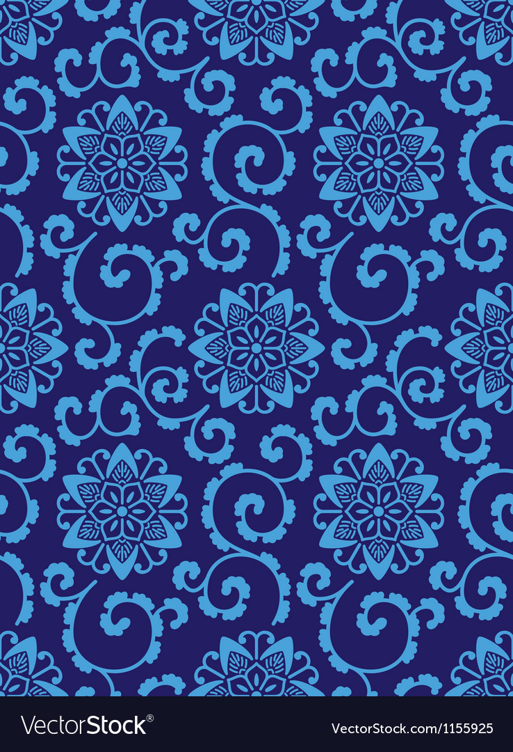 Chinese style seamless pattern vector | Price: 1 Credit (USD $1)