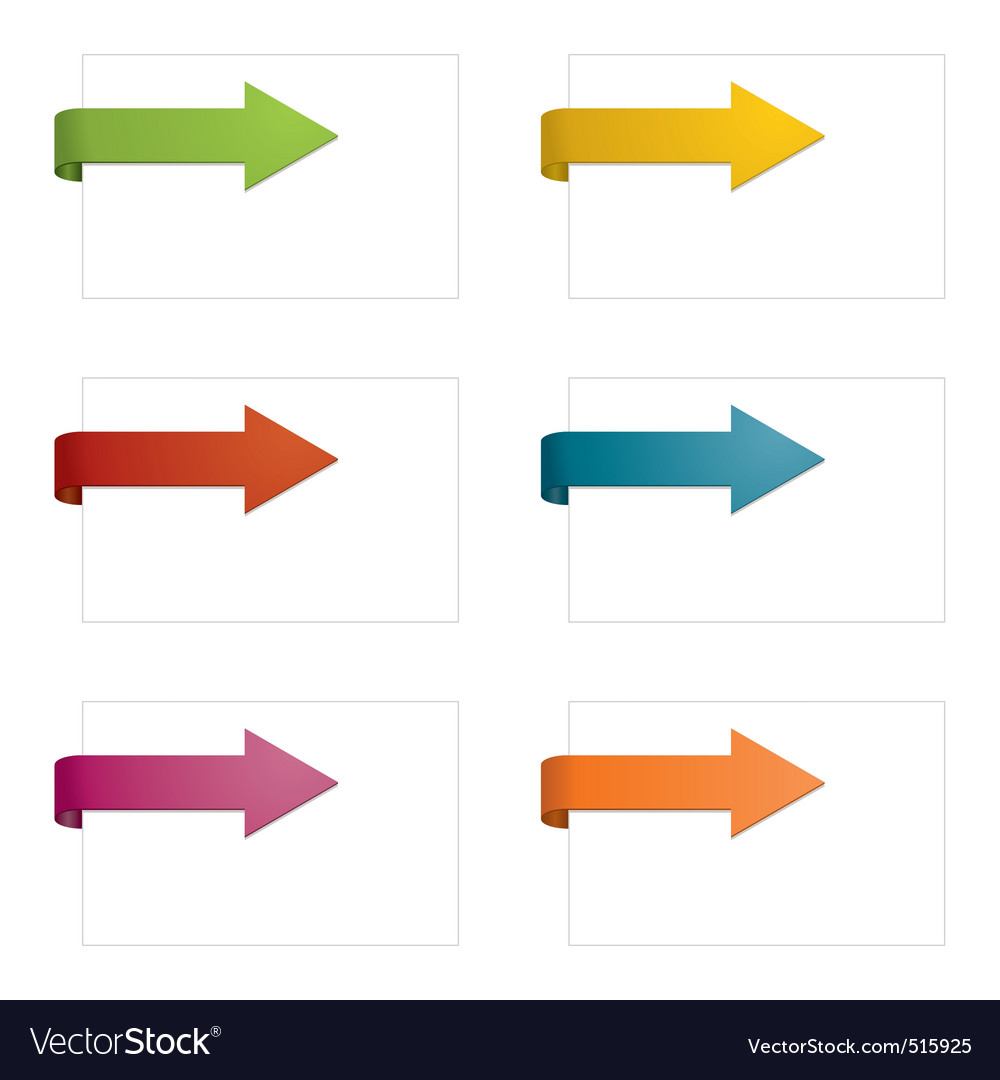 Page arrows vector | Price: 1 Credit (USD $1)