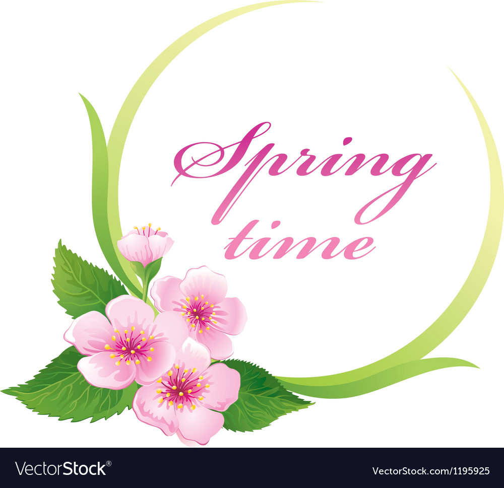 Springtime vector | Price: 1 Credit (USD $1)