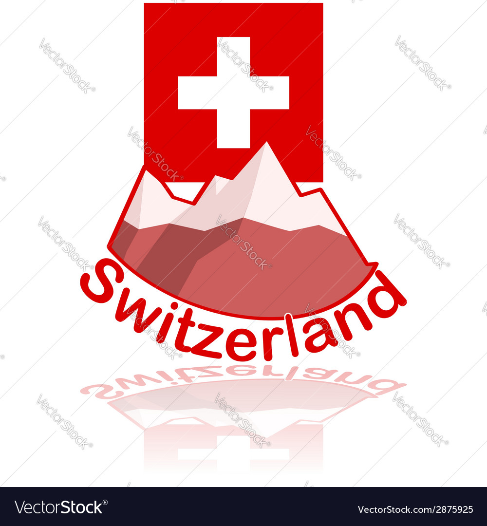 Switzerland icon vector | Price: 1 Credit (USD $1)