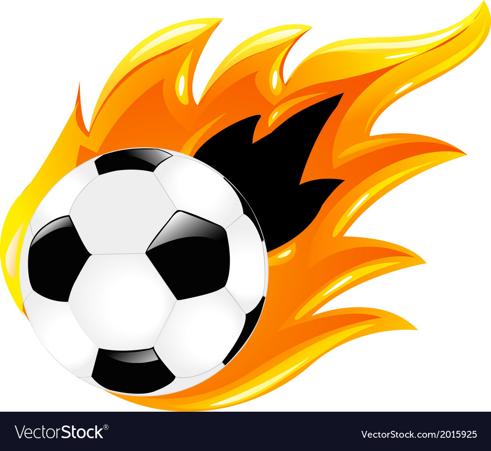 Two soccer balls vector | Price: 1 Credit (USD $1)