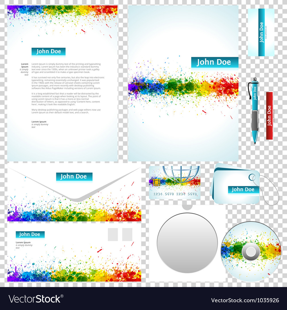 Business templates vector | Price: 1 Credit (USD $1)