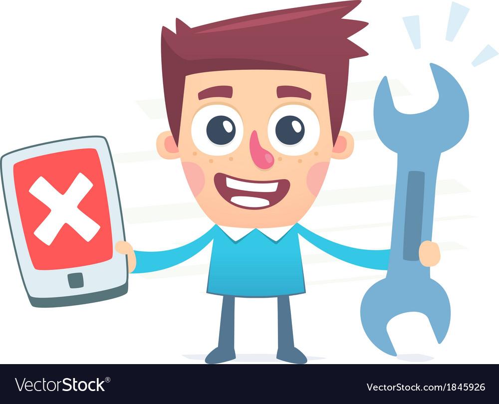 Gadgets repair vector | Price: 1 Credit (USD $1)