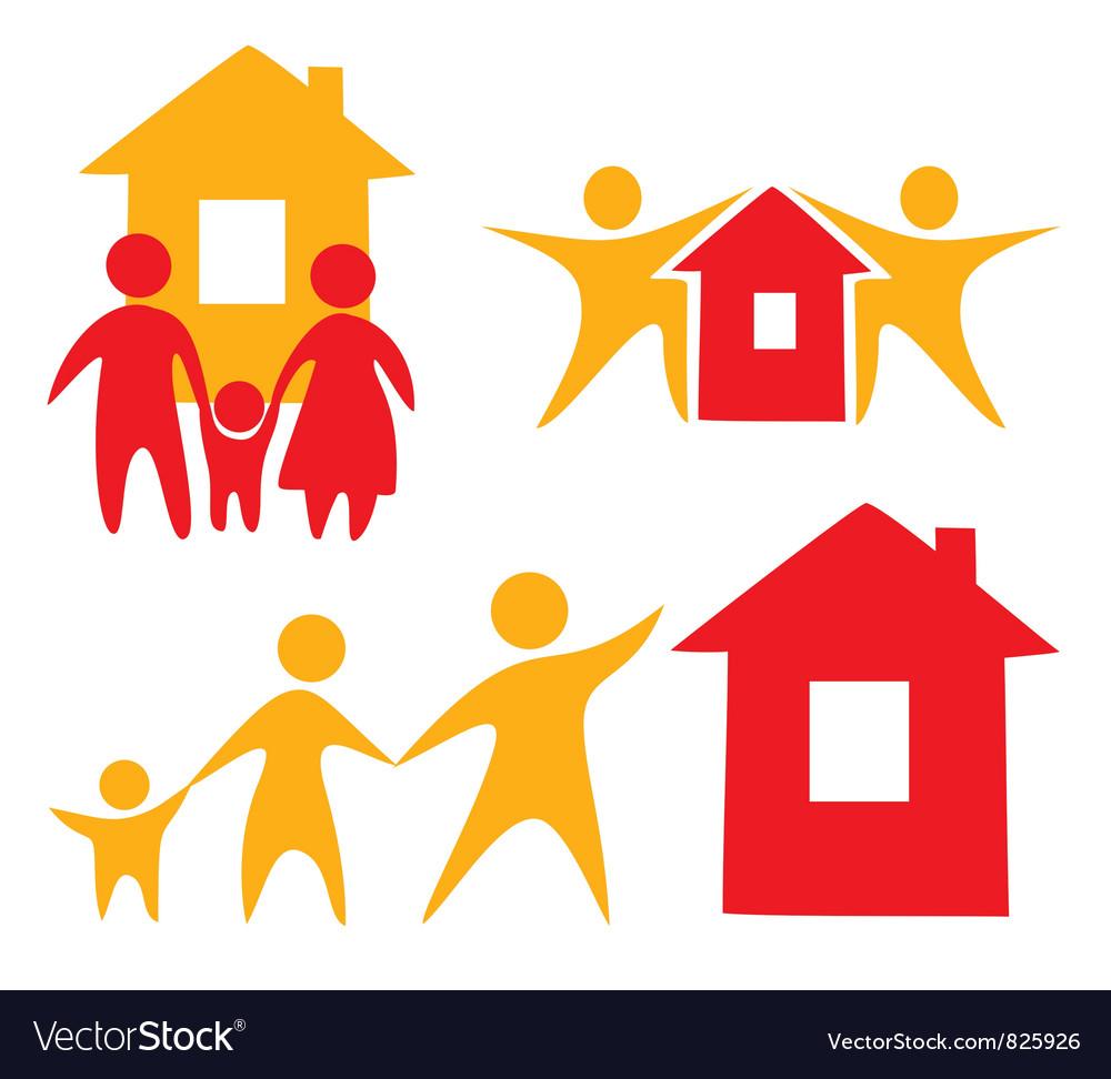Hypothec concept vector | Price: 1 Credit (USD $1)