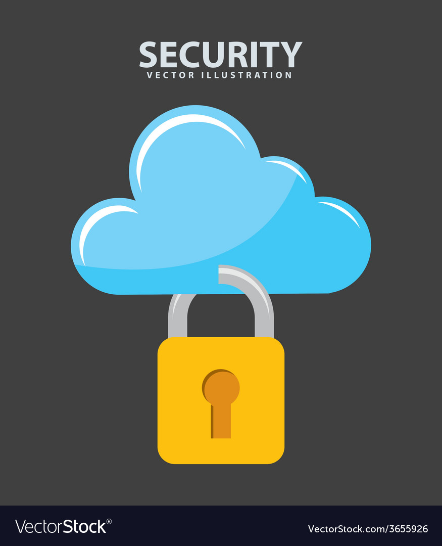 Security icon vector | Price: 1 Credit (USD $1)