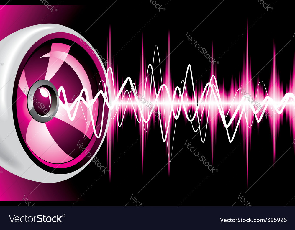 Speaker design vector | Price: 1 Credit (USD $1)