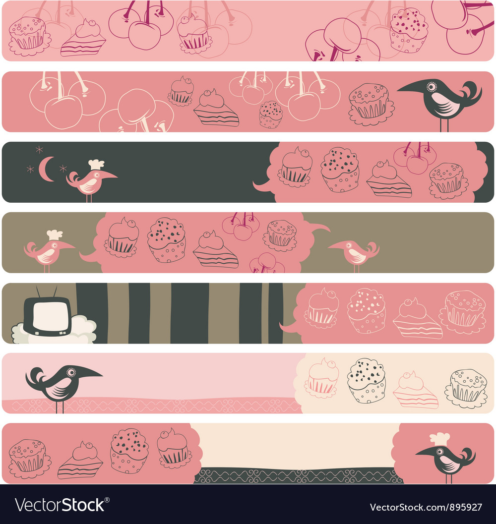 Banner backgrounds vector | Price: 1 Credit (USD $1)