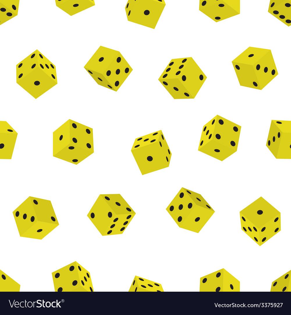Dice pattern vector | Price: 1 Credit (USD $1)