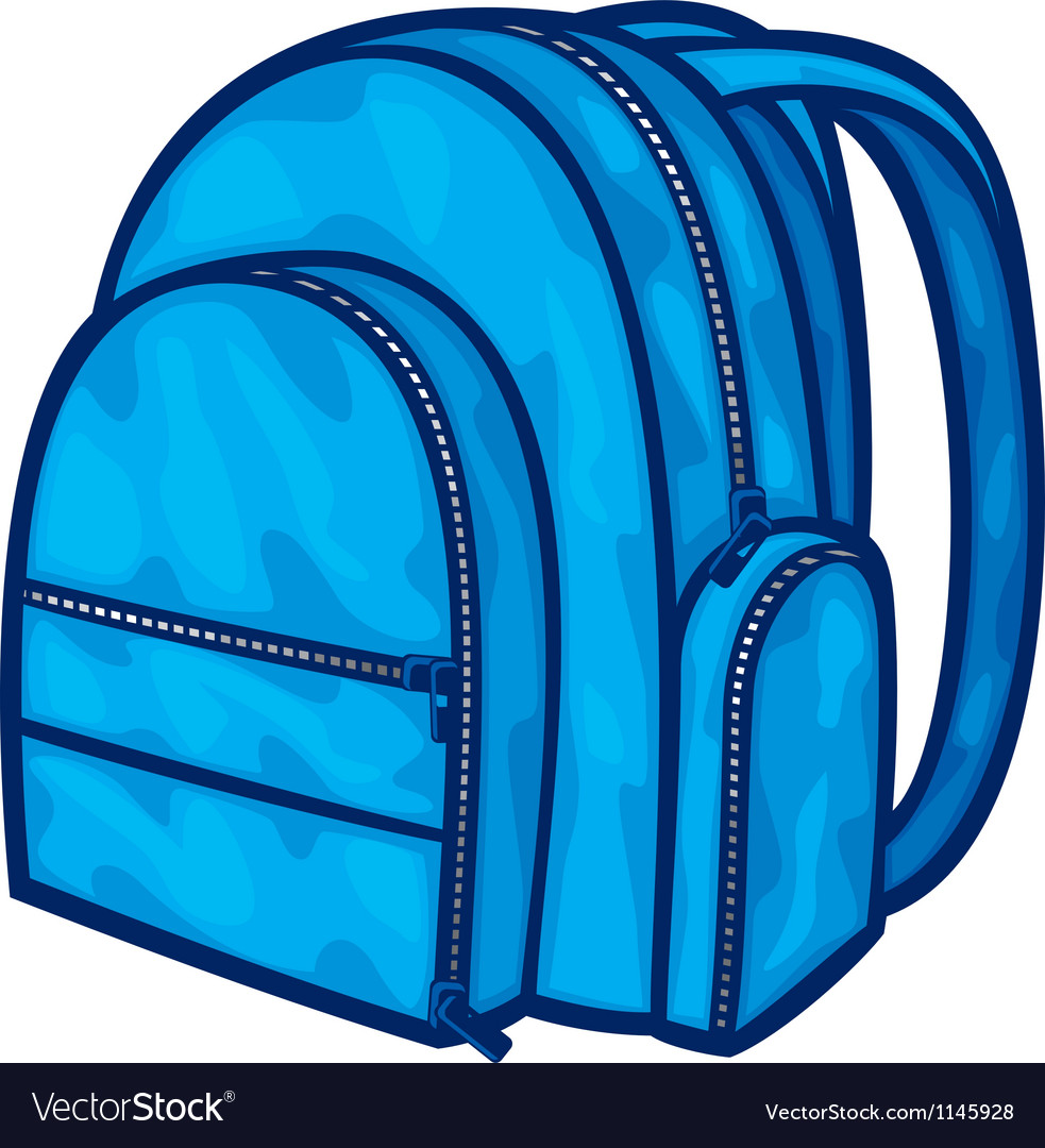 Bag pack - backpack vector | Price: 1 Credit (USD $1)