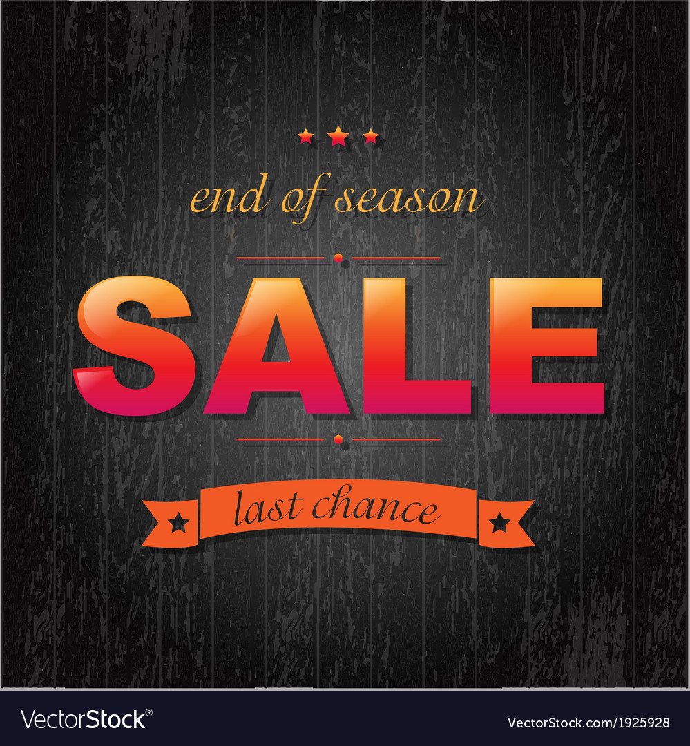 Color sale poster with text vector | Price: 1 Credit (USD $1)