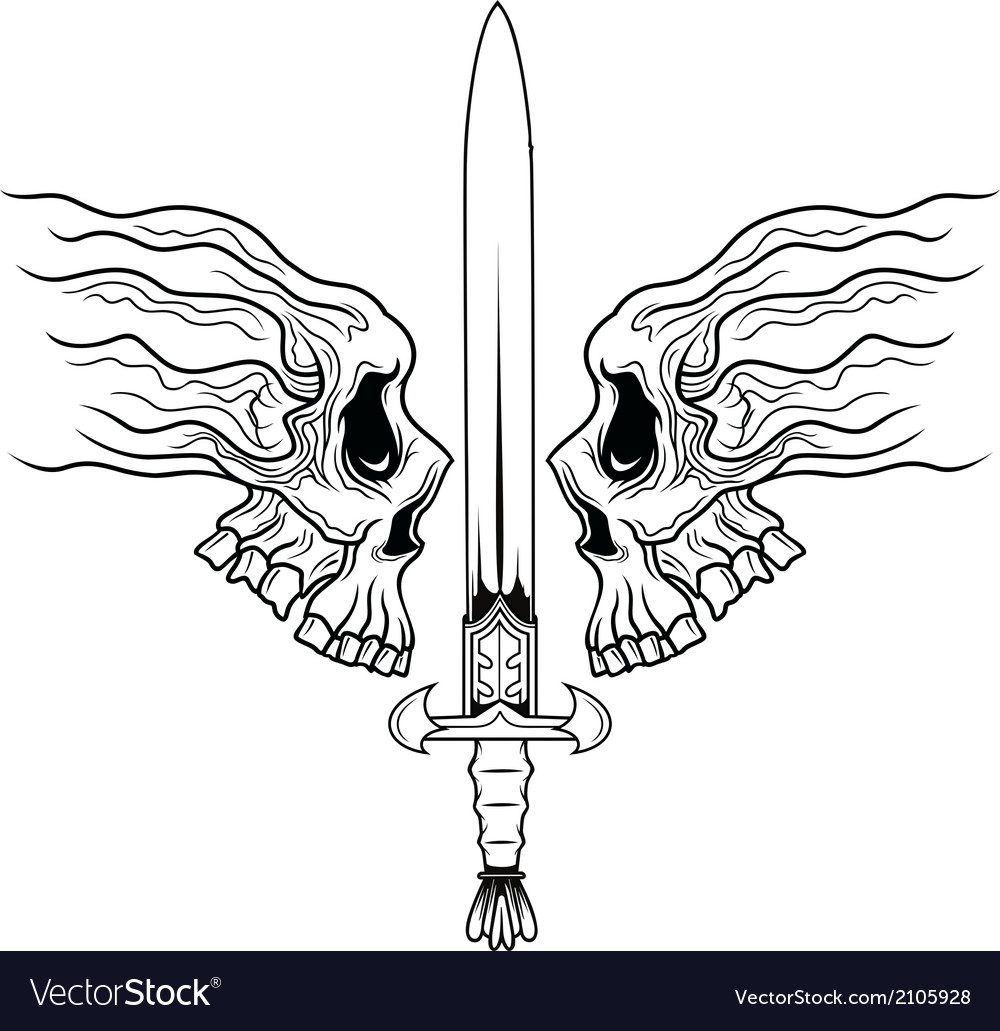 Dead warrior vector | Price: 1 Credit (USD $1)