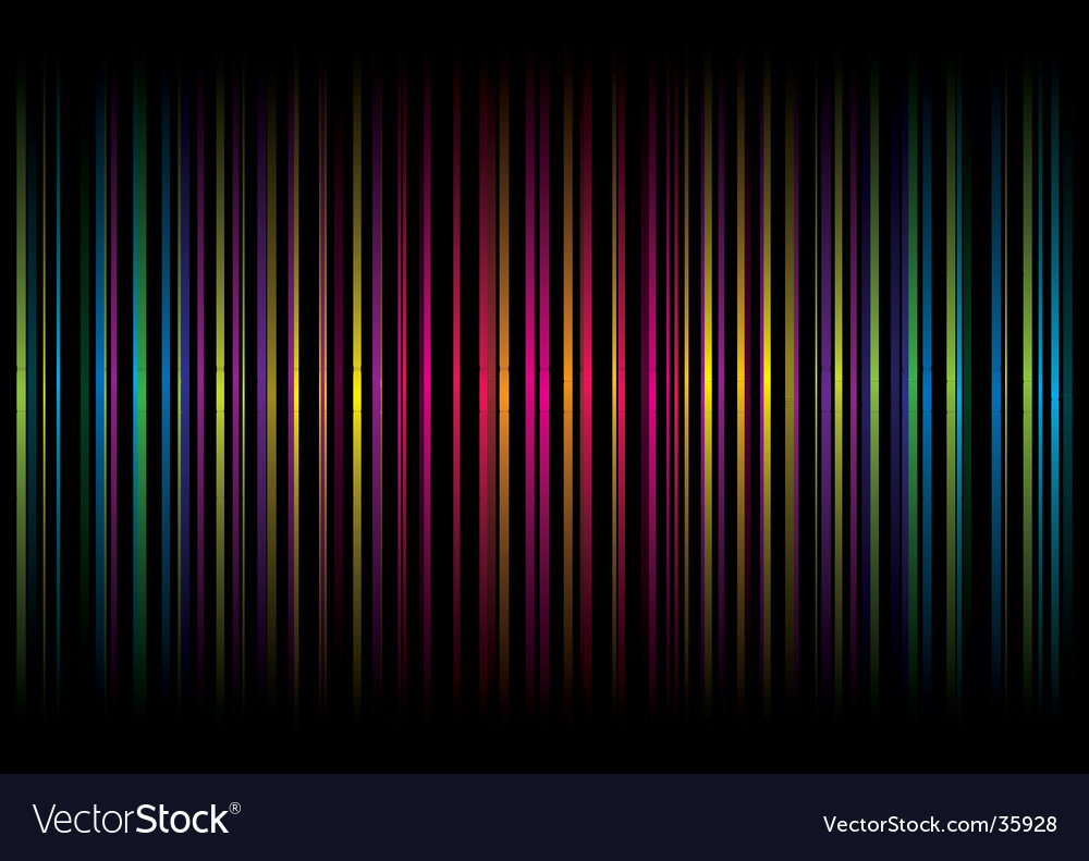 Rainbow stripe graphic design vector | Price: 1 Credit (USD $1)