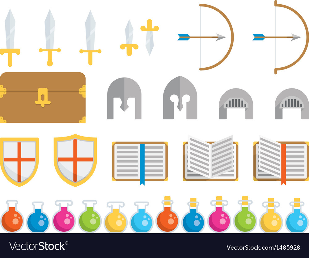 Set of icons - fantasy vector | Price: 1 Credit (USD $1)