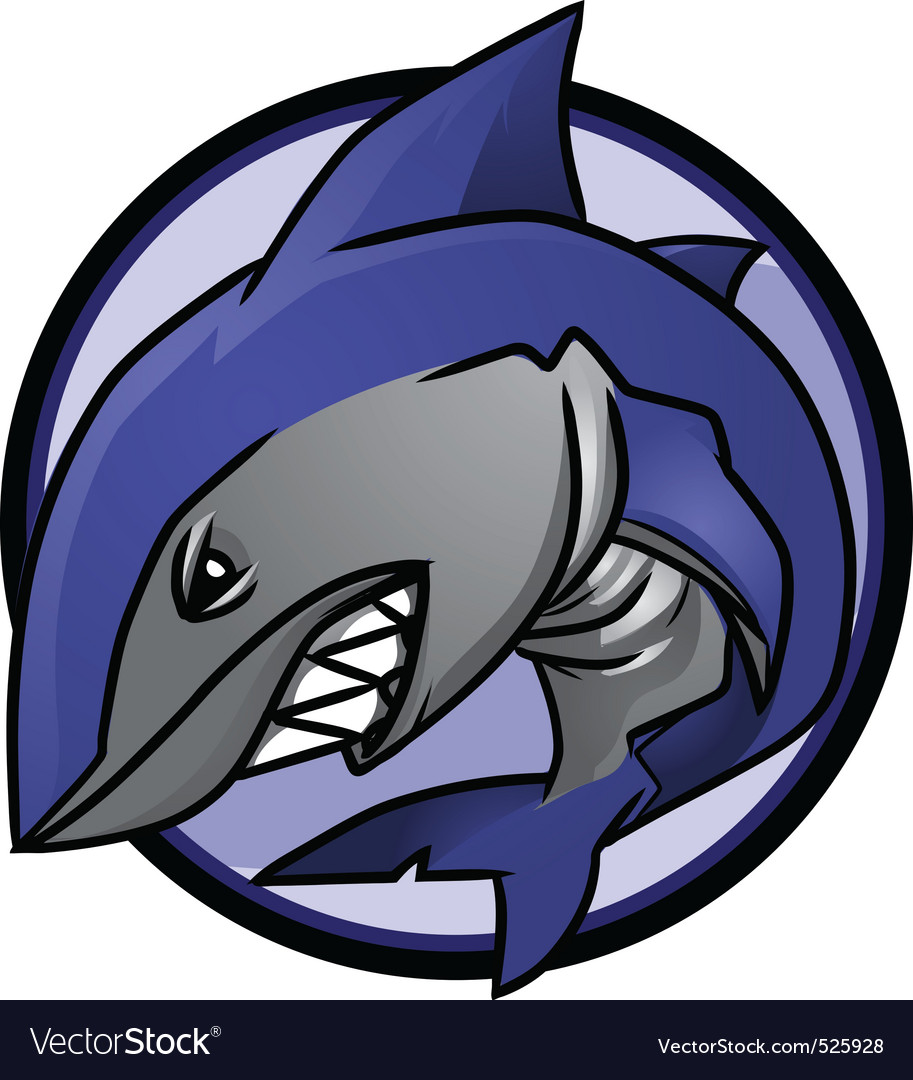 Shark logo vector | Price: 1 Credit (USD $1)