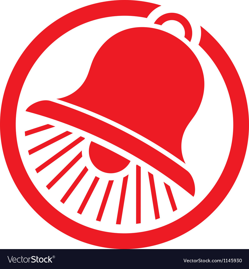 Bell icon-bell symbol vector | Price: 1 Credit (USD $1)