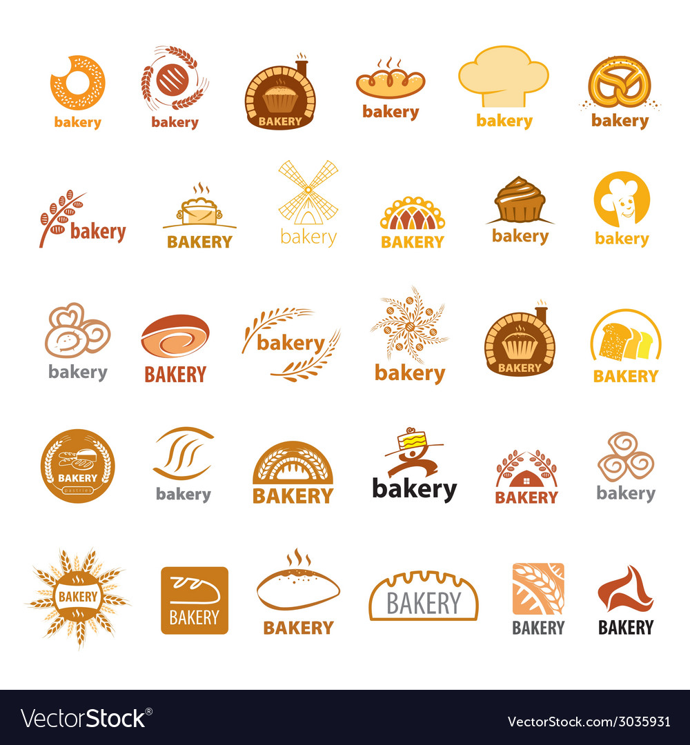 Biggest collection of logos bakery vector | Price: 1 Credit (USD $1)