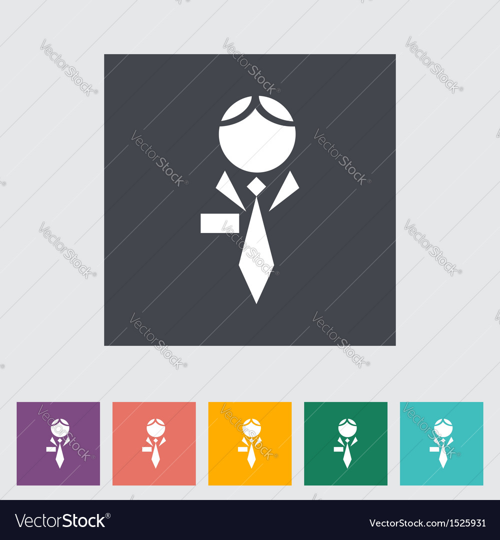 Human icon vector | Price: 1 Credit (USD $1)