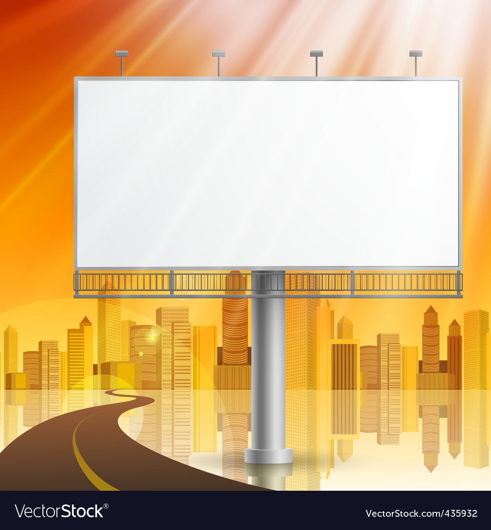 Construction on city background vector | Price: 1 Credit (USD $1)