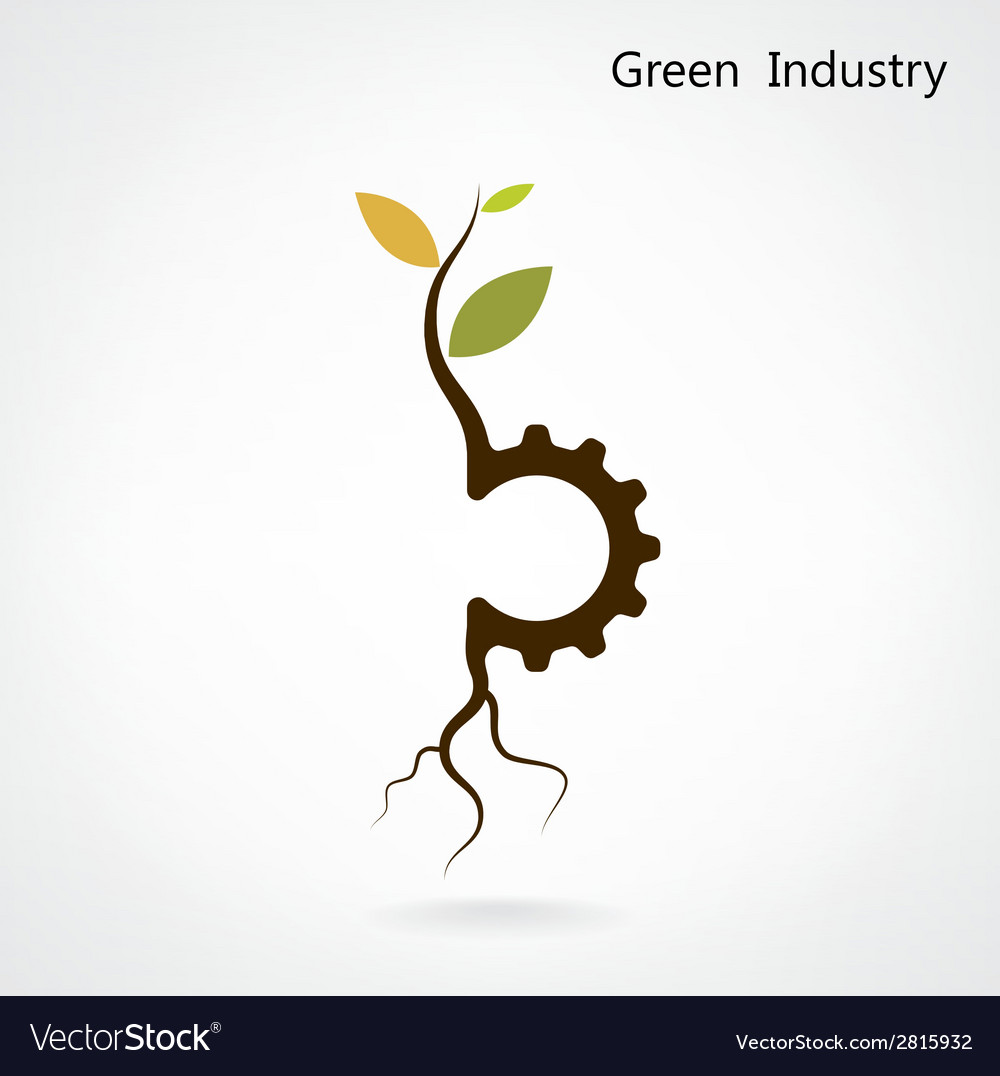 Green industry concept vector | Price: 1 Credit (USD $1)