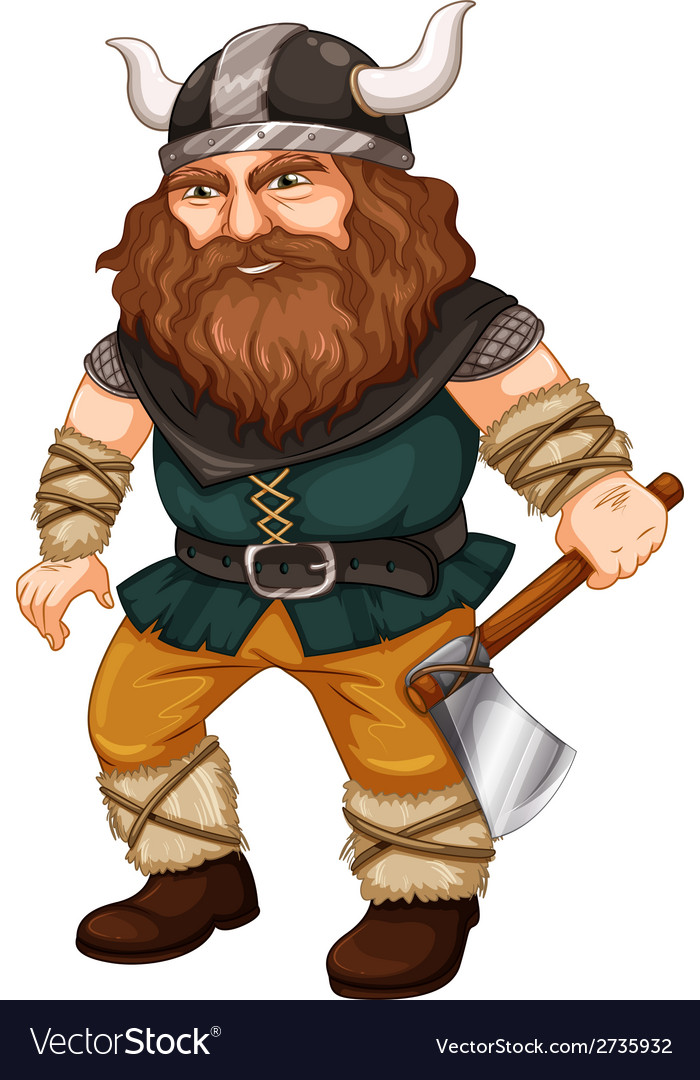 Man viking vector | Price: 1 Credit (USD $1)