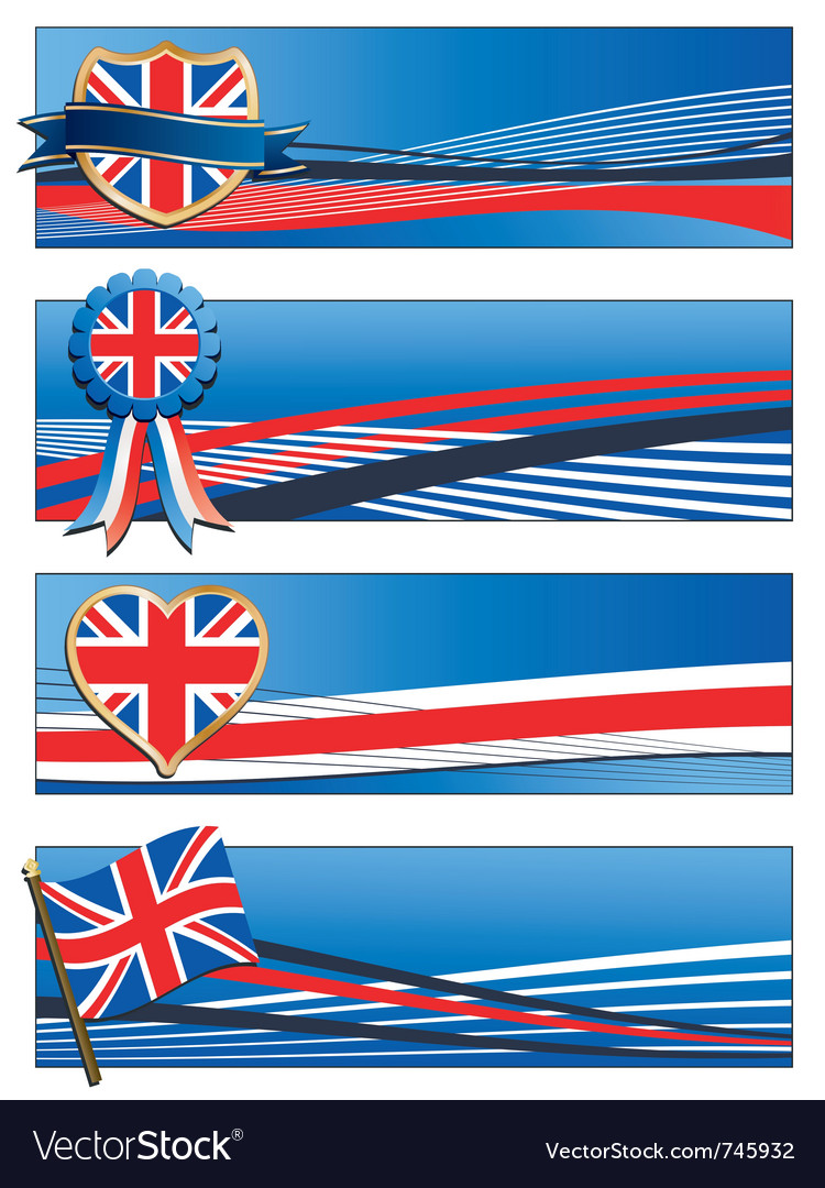 Uk banners vector | Price: 1 Credit (USD $1)