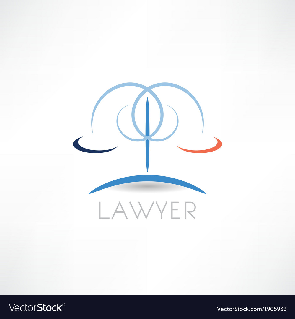 Law abstraction icon vector | Price: 1 Credit (USD $1)