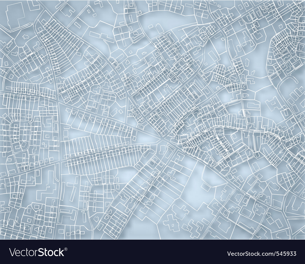 Rough blue map vector | Price: 1 Credit (USD $1)