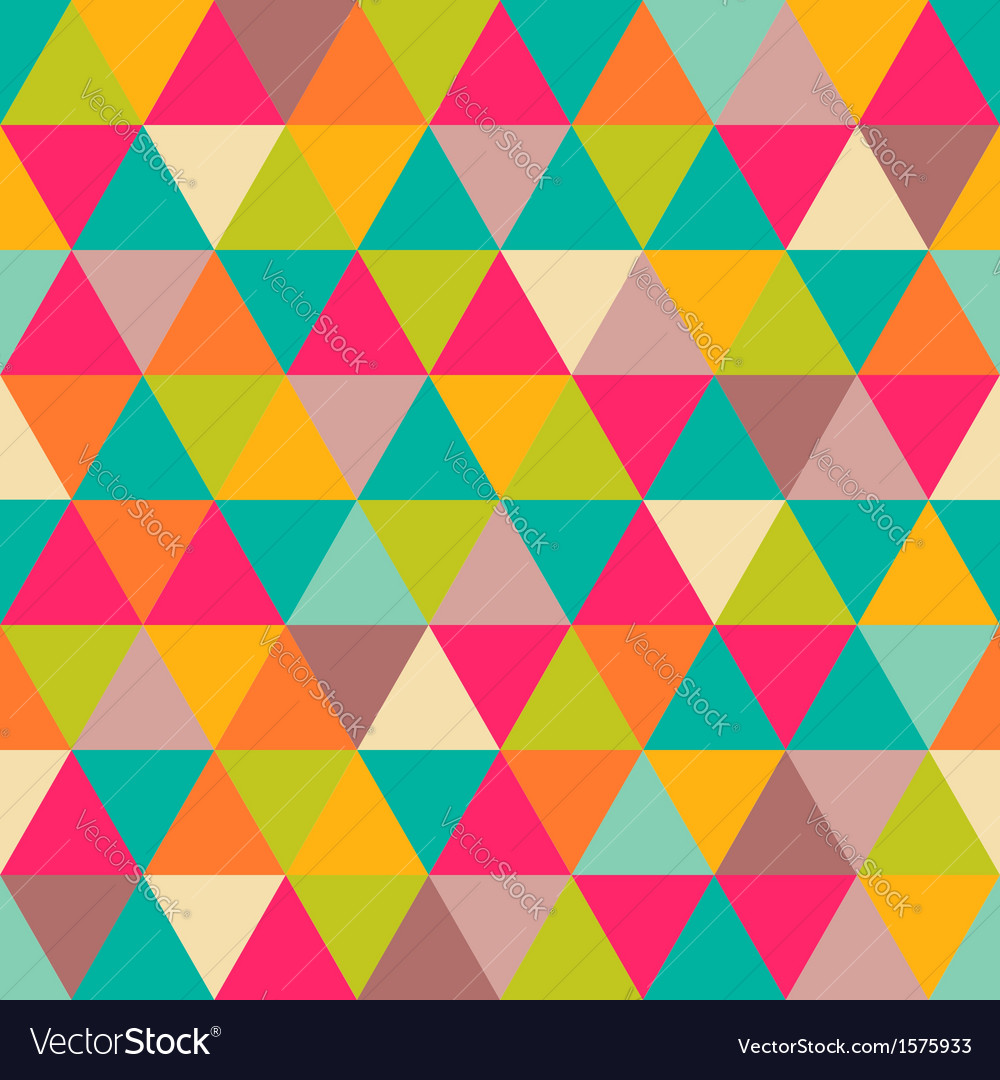 Triangles pattern vector | Price: 1 Credit (USD $1)