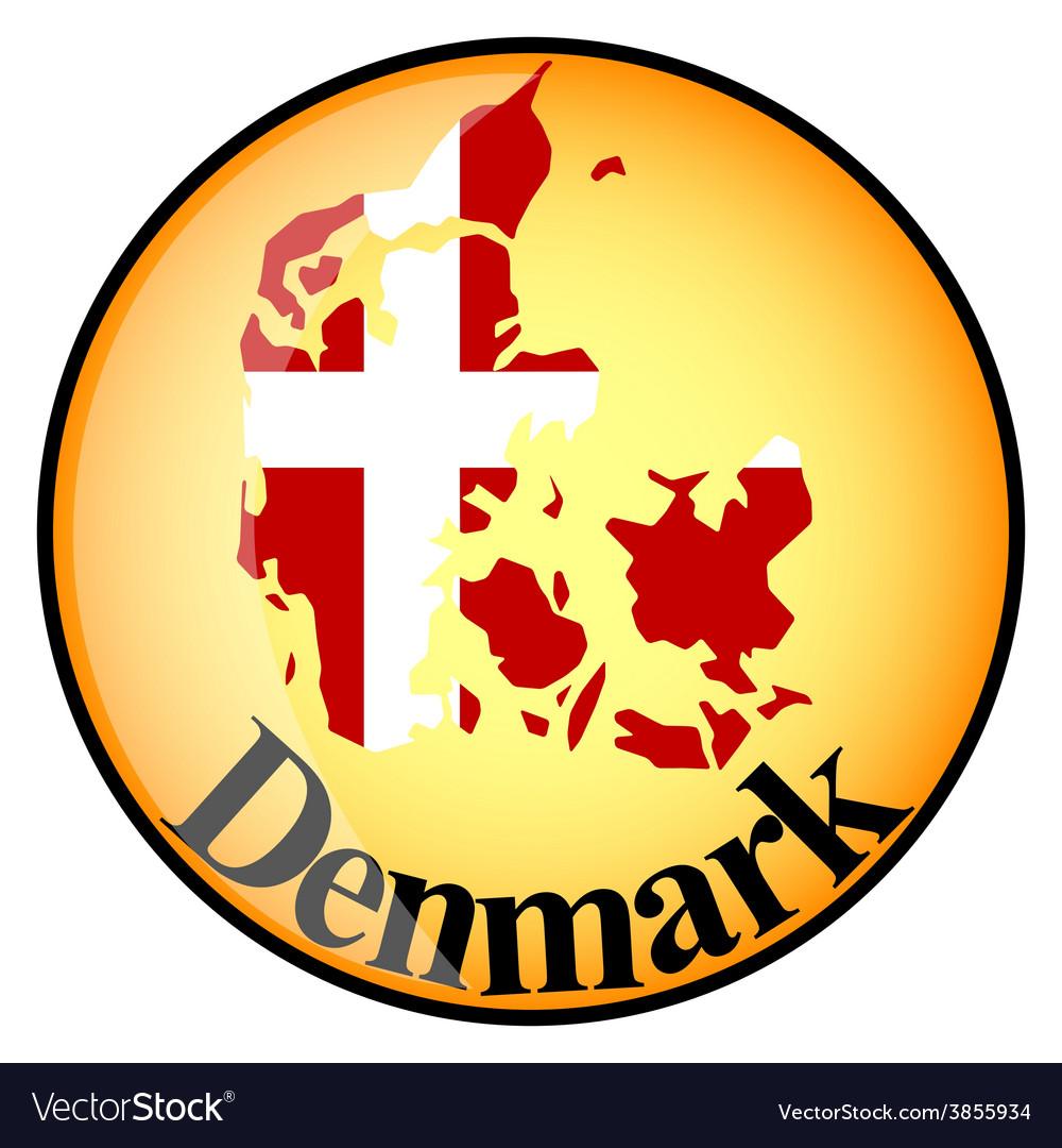 Button denmark vector | Price: 1 Credit (USD $1)