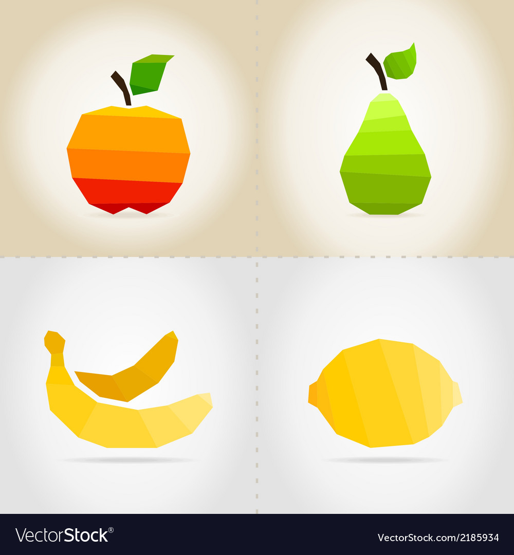 Collection fruit vector | Price: 1 Credit (USD $1)