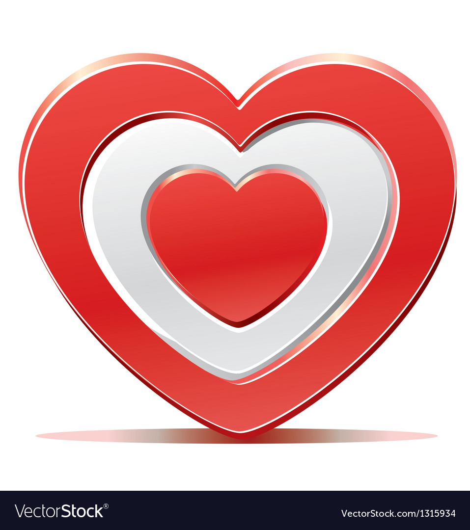 Red heart target aim vector   Price: 3 Credit (USD $3)