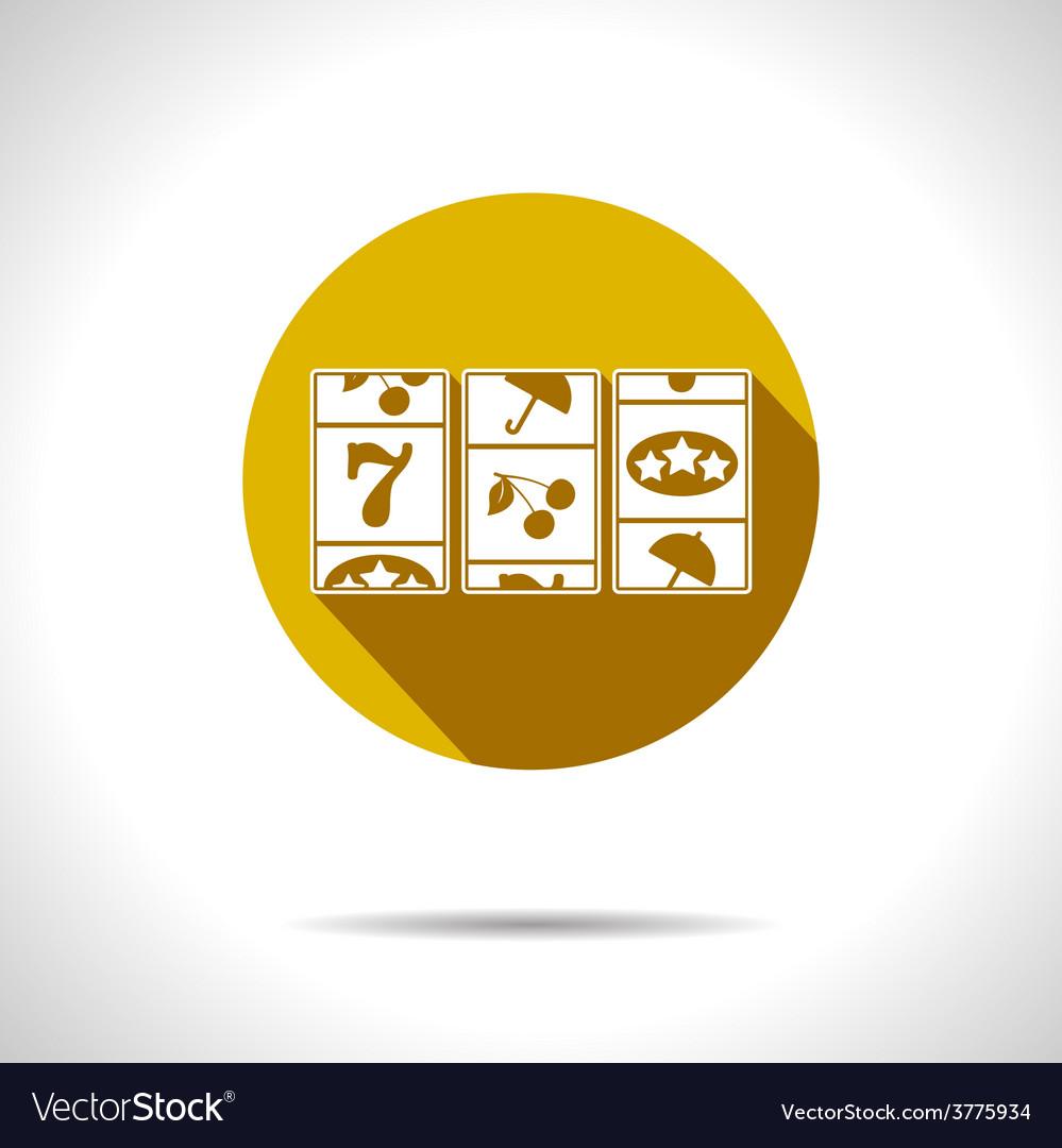 Slot icon eps10 vector | Price: 1 Credit (USD $1)