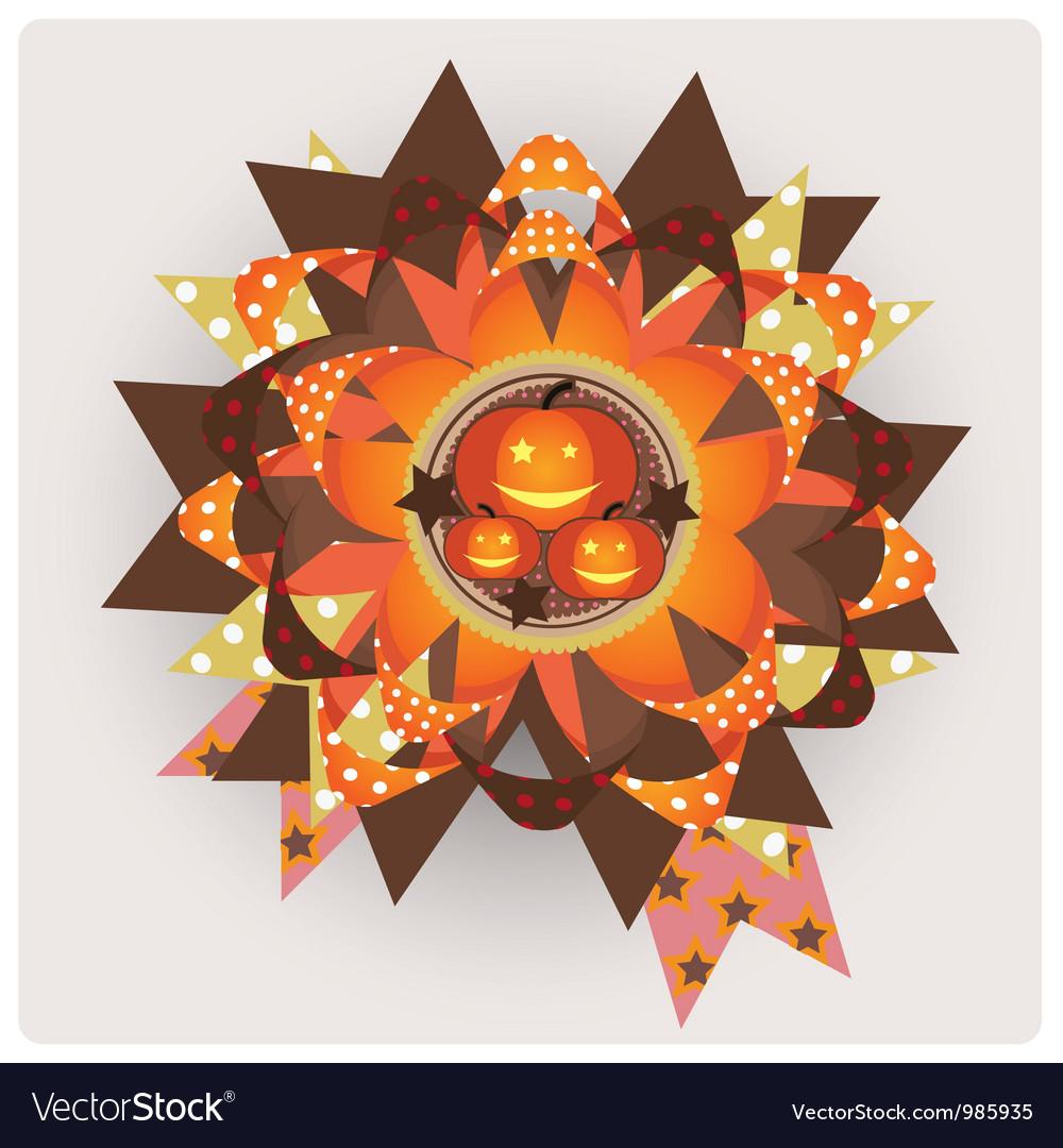 Halloween decor element vector | Price: 1 Credit (USD $1)