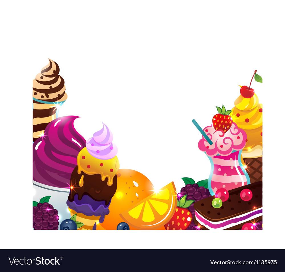 Ice cream menu vector   Price: 1 Credit (USD $1)