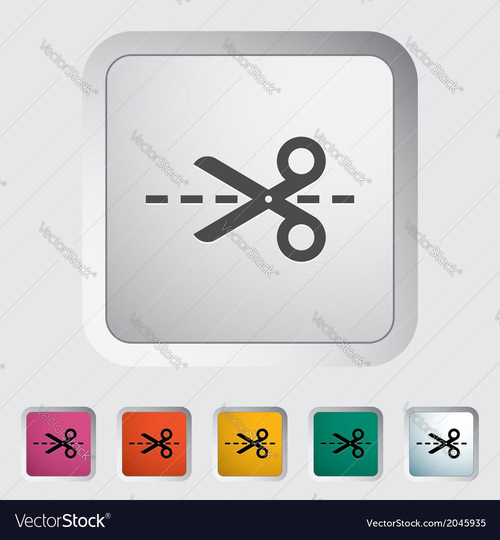 Scissors vector | Price: 1 Credit (USD $1)