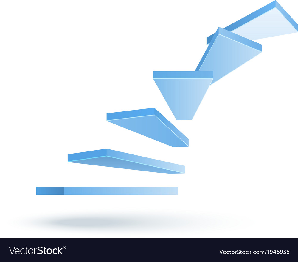 Stairs vector | Price: 1 Credit (USD $1)