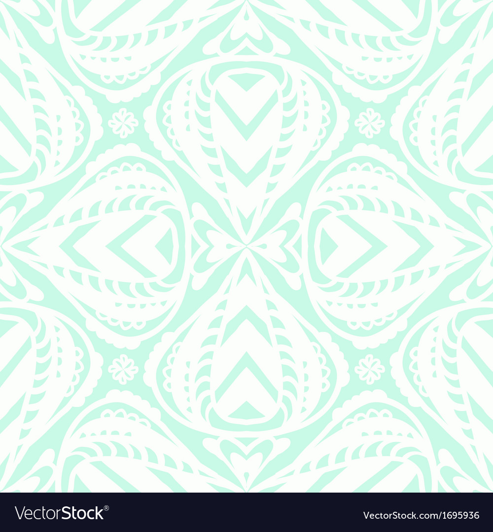 Abstract floral white pattern vector | Price: 1 Credit (USD $1)